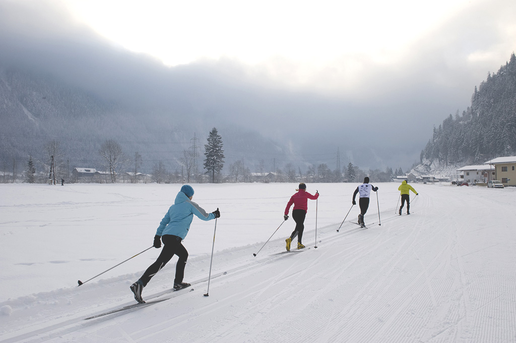 Cross-country skiing in Mayrhofen-Hippach